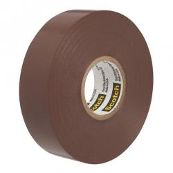 VINYL COLOR CODING TAPE, BROWN, 3/4IN X 66FT
