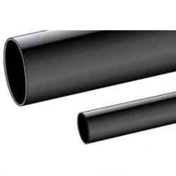 ALPHA PVC105-7/8 BLK 50' ROLL