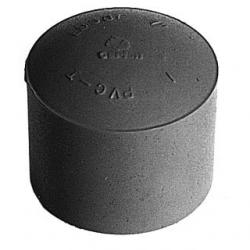 PIPE END CAP 1 IN PVC 75PK