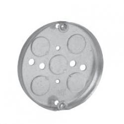 "CROUSE HINDS TP269, 4"" ROUND CEILING PAN 1/2"" DEEP"