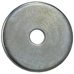1/4 X 1 FENDER WASHERS ZINC PLATED