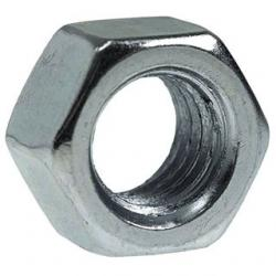 1/2-13 HEX NUTS FINISHED ZINC PLATED