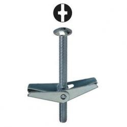 1/4 X 3 TOGGLE BOLTS PHILLIPS/SLOTTED MUSHROOM HEAD