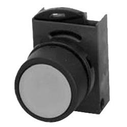 P/BUTTON FLUSH BLACK