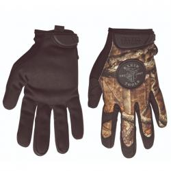 KLEIN JOURNEYMAN CAMOUFLAGE GLOVES, SIZE M