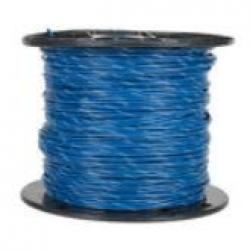 MTW 14 AWG BLUE WITH WHITE STRIPE 500' SPOOL