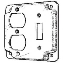4-IN.SWITCH/DUPLEX COVER