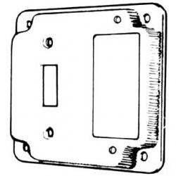 4-IN.SQ.SWITCH/GFCI COVER