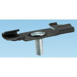 TWIST-ON T-BAR HANGER WITH 1/4IN -20 STUD