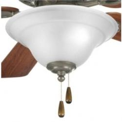 Trinity Collection Three-Light Ceiling Fan Light