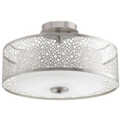 Mingle Collection Two-Light Semi-Flush Mount