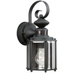 Motion Sensor One-Light Wall Lantern