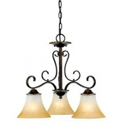 (DISCONTINUED) 3-Light Duchess Dinette Chandelier