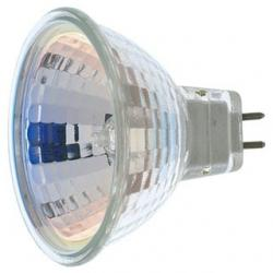50 WATT HALOGEN MR16 EXN 2000 AVERAGE RATED HOURS MINIATURE 2 PIN ROUND BASE 12 VOLTS