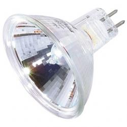 20 WATT HALOGEN MR16 BAB/C 2000 AVERAGE RATED HOURS MINIATURE 2 PIN ROUND BASE 12 VOLTS