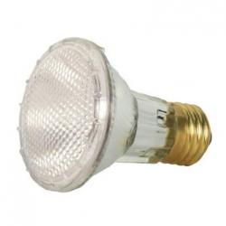 39 WATT HALOGEN PAR20 CLEAR 1500 AVERAGE RATED HOURS 530 LUMENS MEDIUM BASE 120 VOLTS