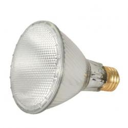 60 WATT HALOGEN PAR30 CLEAR 1500 AVERAGE RATED HOURS 1090 LUMENS MEDIUM BASE 120 VOLTS