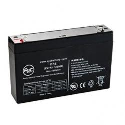 6volt 7amp hour battery with tabs