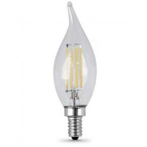 6W CAC FLAME TIP LED SOLD AS 2-PACK CAND E12 5000K 80CRI 120V DIMMABLE 15000HR 500L 4.3MOL