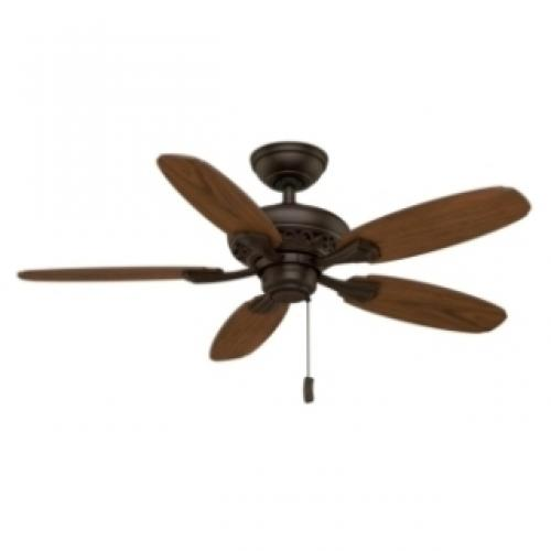 CASABLANCA 44IN FORDHAM BRUSHED COCOA CEILING FAN