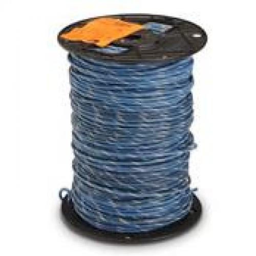 MTW 16 AWG Blue with Gray tracer 500' spool