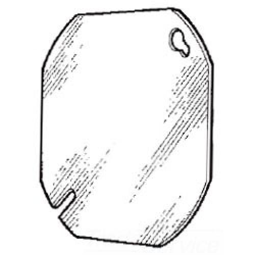 4-IN.ROUND BLANK COVER