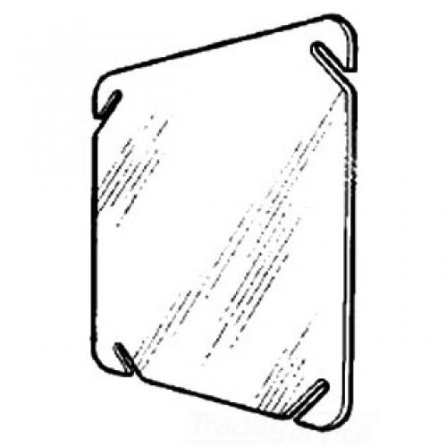 4-IN.SQUARE BLANK COVER