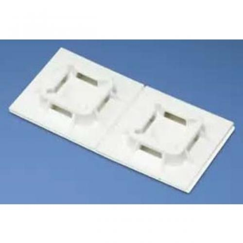 ADHESIVE MOUNT WITH RUBBER ADHES, 1IN X 1