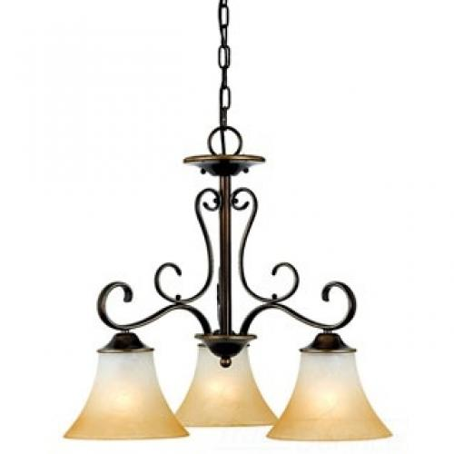 3-Light Duchess Dinette Chandelier