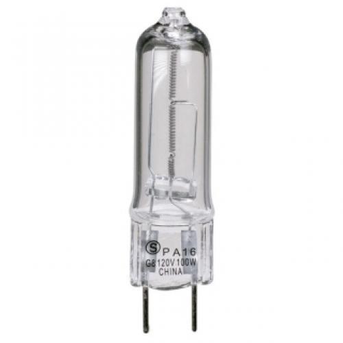 Satco S4613 75 Watt 1250 Lumens T4 Halogen G8 Base 120 Volt Clear Light Bulb Dimmable