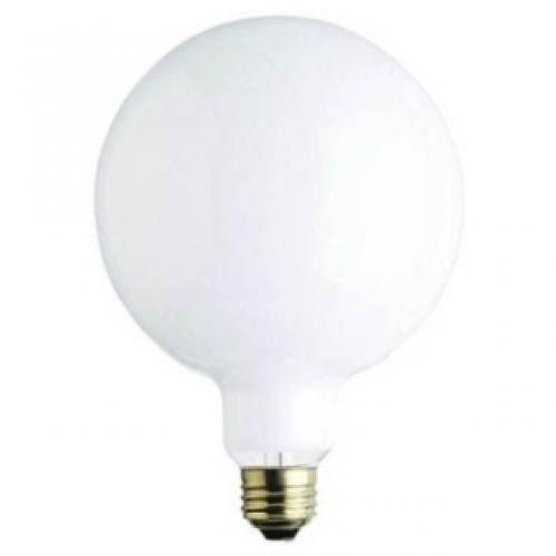 150W G40 INCANDESCENT WHITE E26 (MEDIUM) BASE, 120 VOLT, BOX